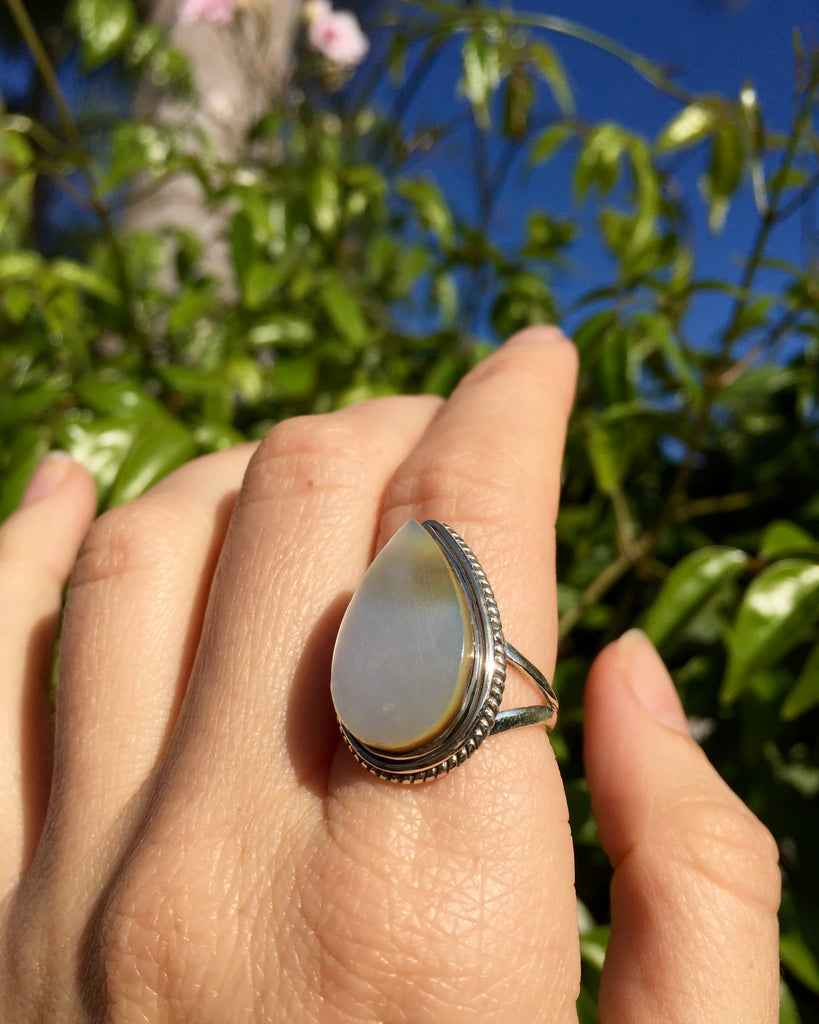 Mother of Pearl Sea Ring