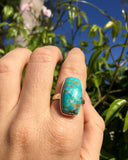 Silver & Turquoise Peaceful Ring