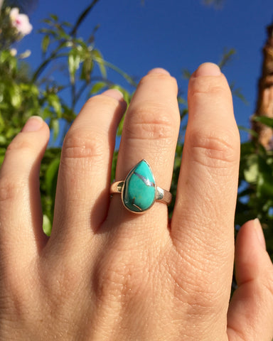 Turquoise Connection Ring