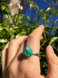Silver & Turquoise Calm Ring