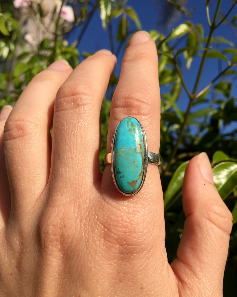 Turquoise Clarity Ring