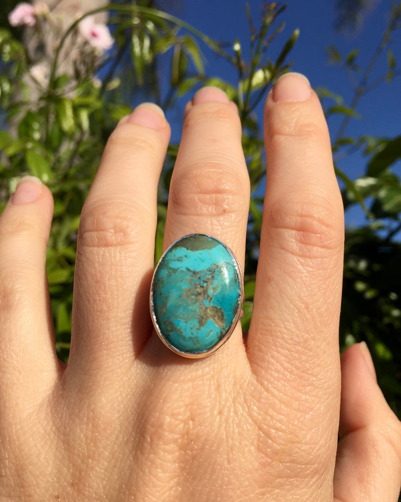 Turquoise Symbiosis Ring