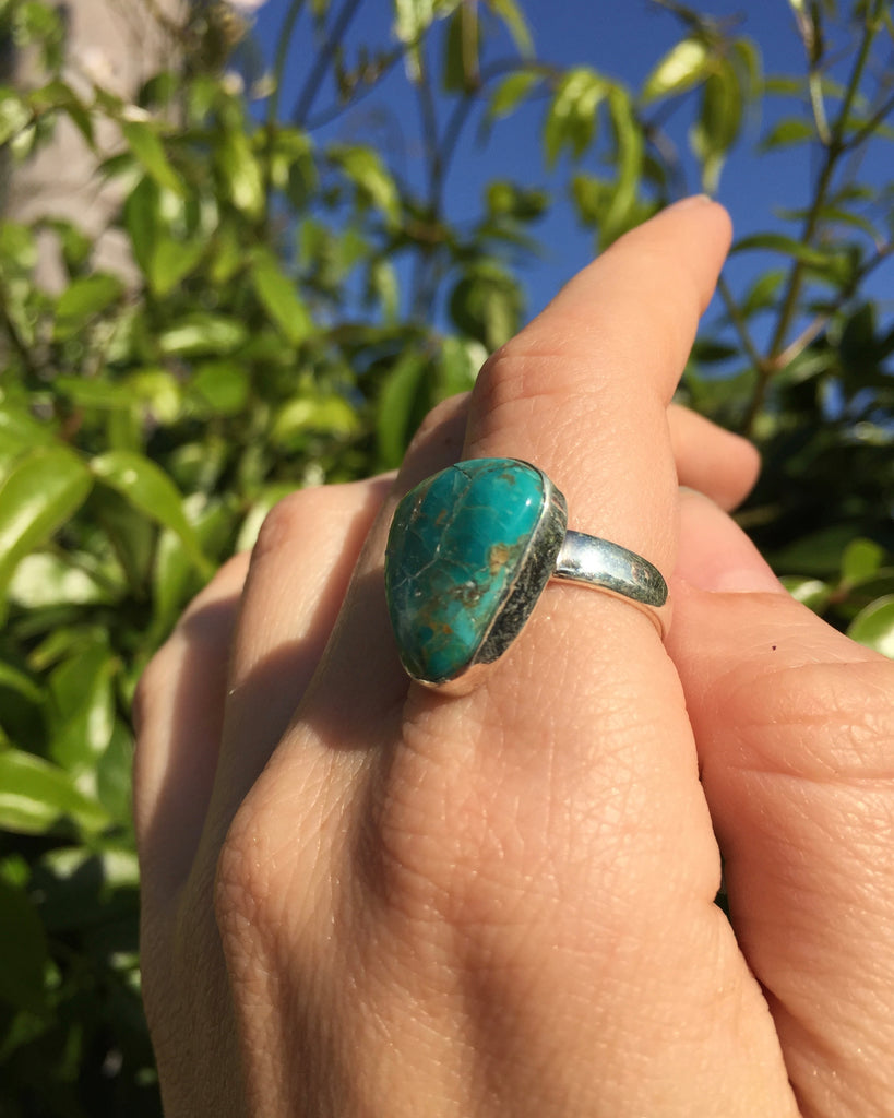 Turquoise Centered Ring