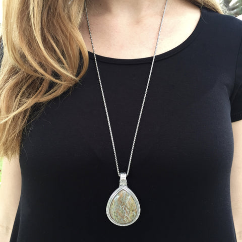 Stone Paige Necklace