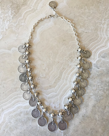 Labradorite Flourish Necklace