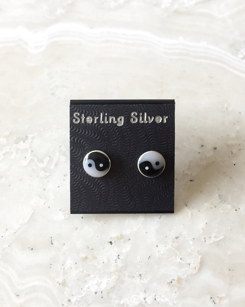 Sterling Silver Stud Earrings