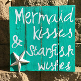 Mermaid Kisses Wall Art