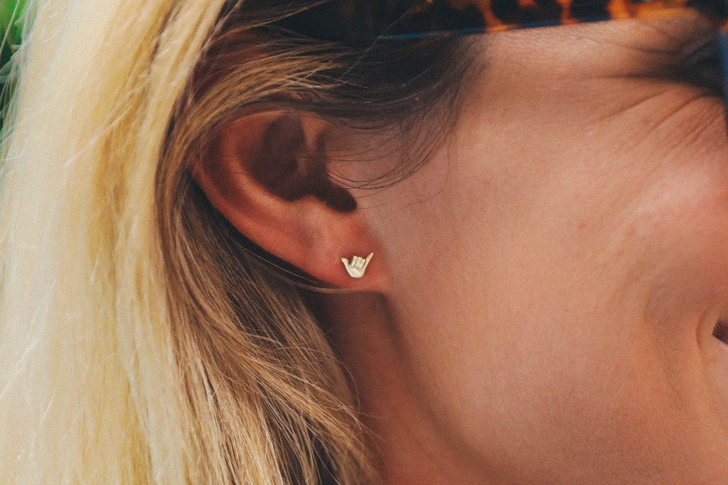 Pura Vida Shaka Earrings