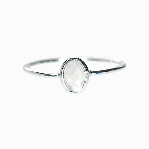 Silver Whitney Ring