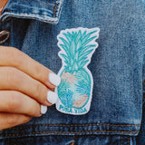 Pura Vida Palm Pineapple Patch