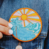 Pura Vida Sunset Patch