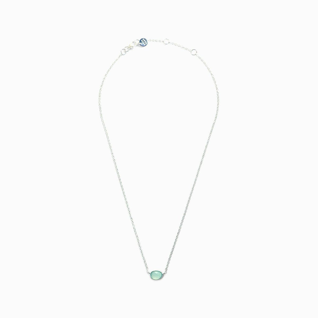 Pura Vida Teardrop Stone Necklace
