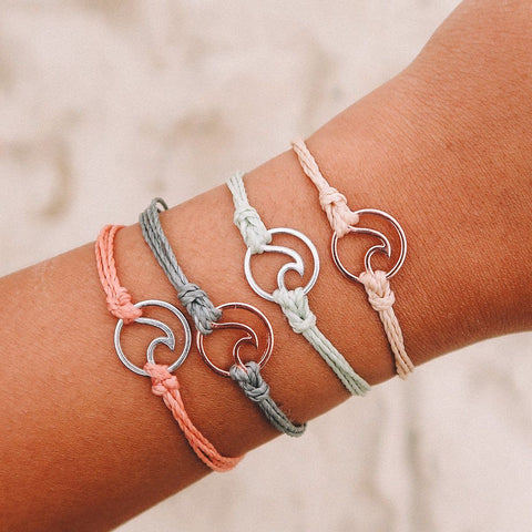 "Pura Vida ""Negu: Never Ever Give Up"" Bracelet"