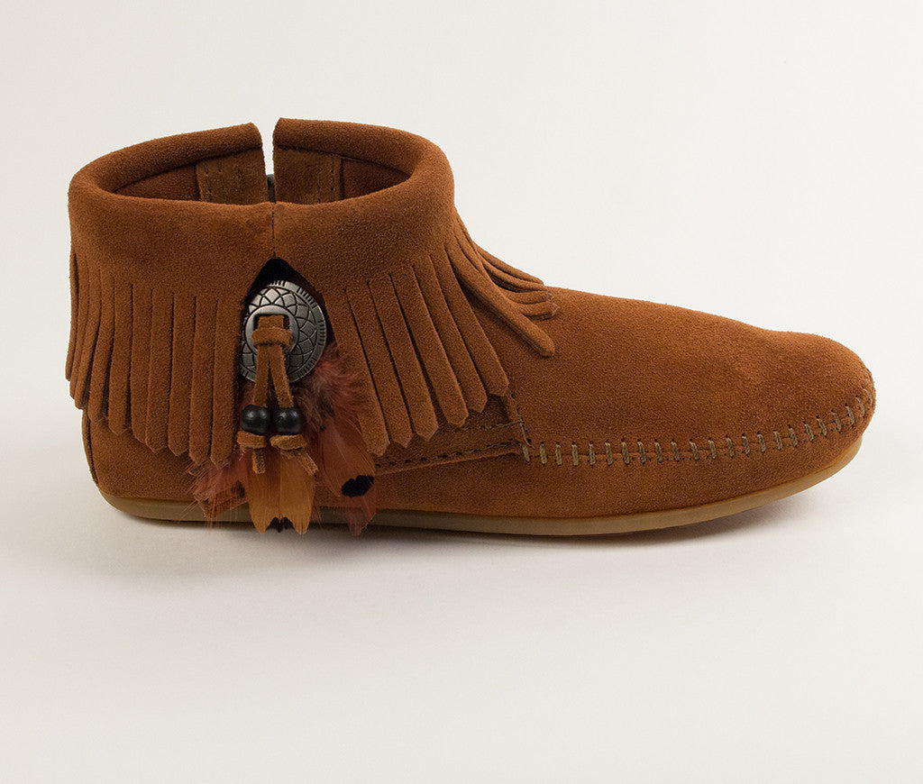 Concho Feather Boot