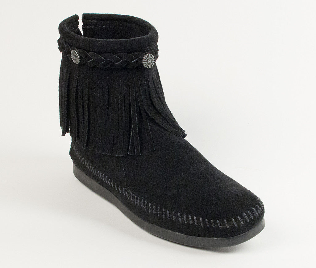 Hi Top Back Zip Boot