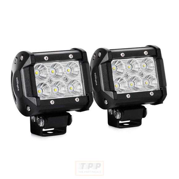 2PCS Led Light Bar 18w 4