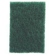 3M Scotch-Brite Scouring Pad, Green, 4-1/2