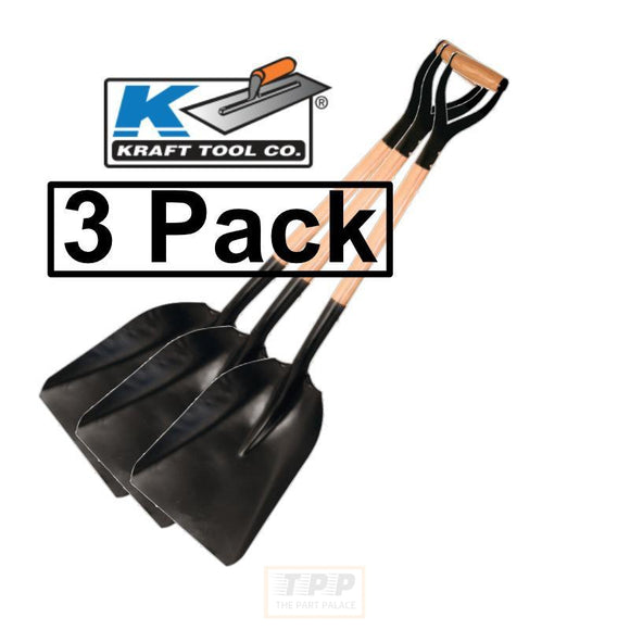 Asphalt Scoop Shovel 3 pack Kraft Tools GG868-The Part palace