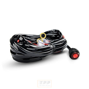 LED Light Bar Wiring Harness Kit 12V-The Part palace