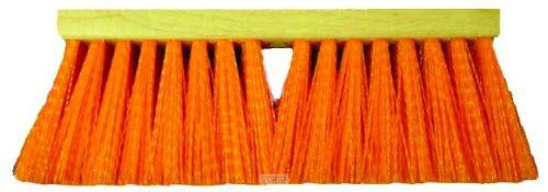 Magnolia Brush 1316-O OSHA Heavy Gauge Street Broom, Plastic Bristles, 5