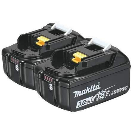 Makita 18V LXT® Lithium‑Ion 3.0Ah Battery, 2/pack BL1830B-2-The Part palace