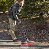 "O-Cedar Professional 18"" Rough-Surface Push Broom-The Part palace"