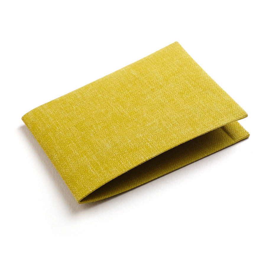 Wallet in Mustard Yellow