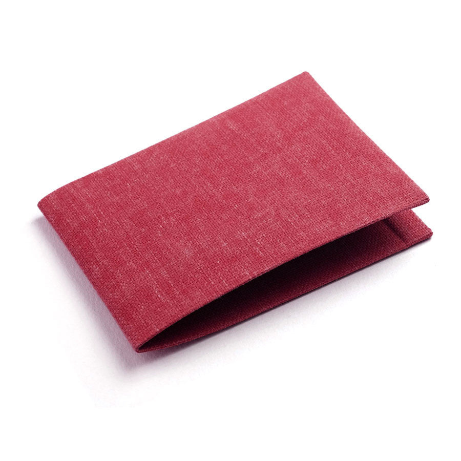 Wallet in Ruby Red