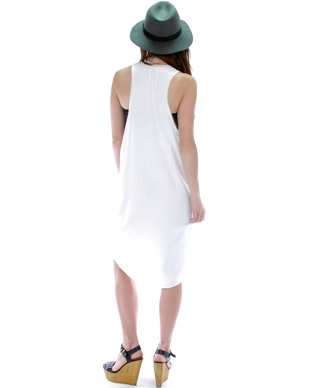 Whenever Wherever Tunic Dress In Ivory