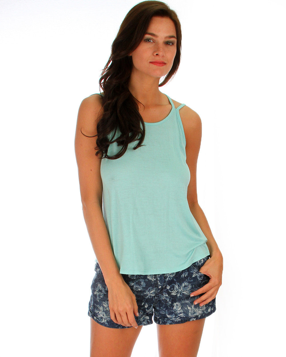 Oh My Straps! Tank Top In Mint