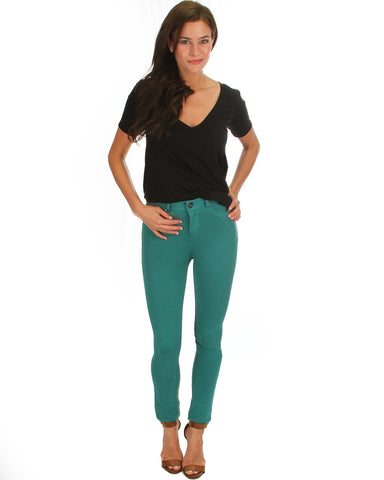All Day Comfort Skinny Pants In Jade