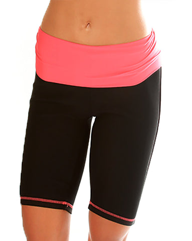 Coral Lyss Loo Fold Over Active Shorts