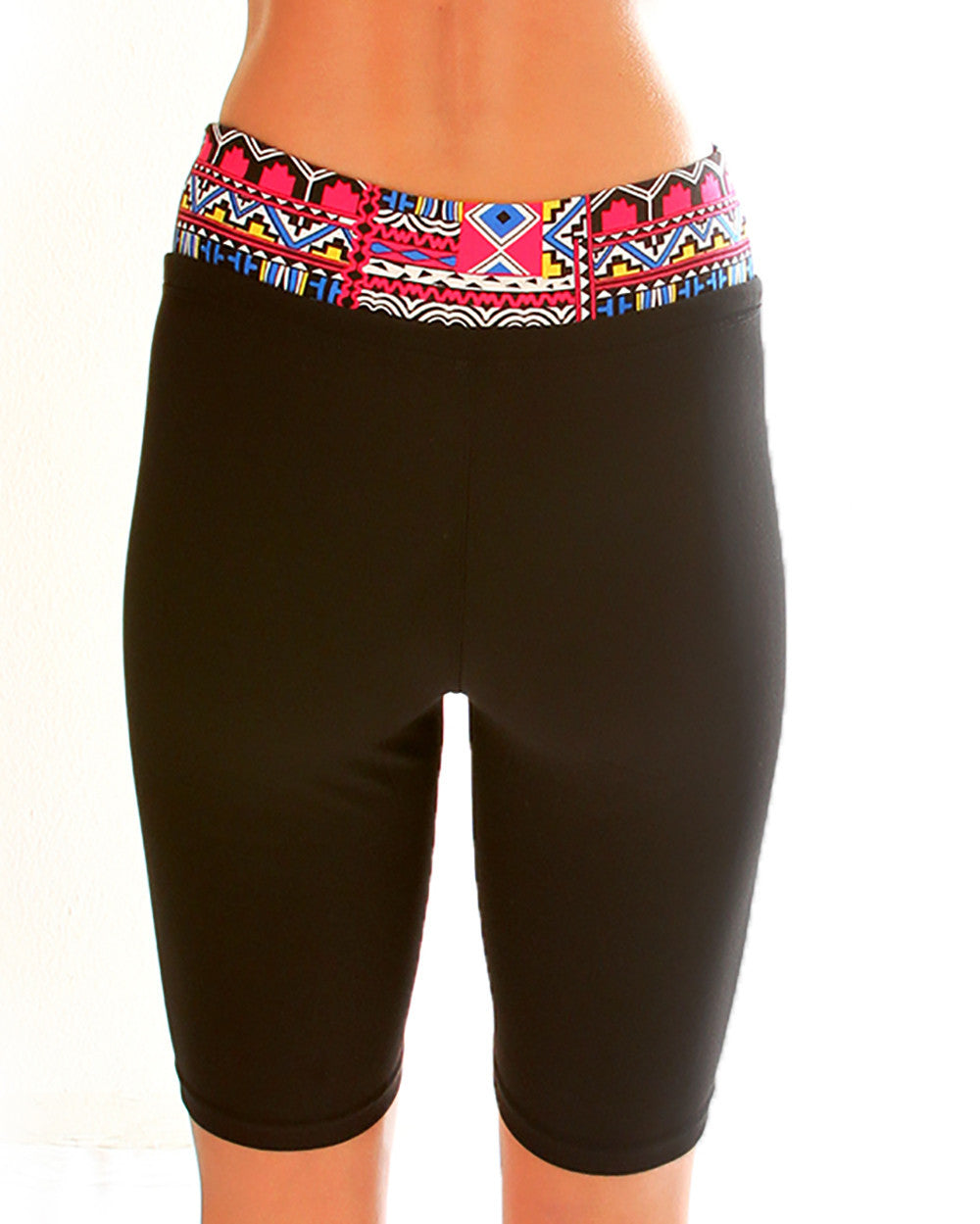 Multi Color Print Lyss Loo Work it Out Active Shorts