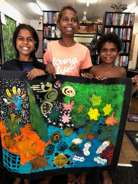 LOUISE NUMINA'S CHILDREN'S ARTWORK from Darwin N.T