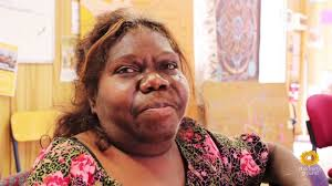 LORRAYNE GOREY - Aboriginal artist from Arrernte Lands at Mparntwe (Alice Springs) N.T, Central Desert Region