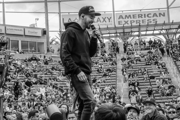 Mike Shinoda - KROQ Winnie Roast - © 2018 Rob Fenn