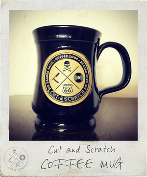 Cut & Scratch <br>Coffee Mug