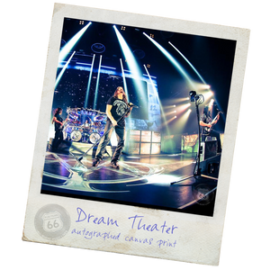 Dream Theater Autograph Canvas
