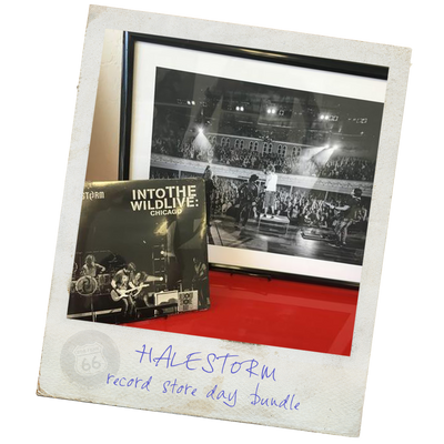 Halestorm RSD Record and Canvas Print