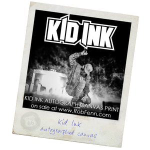 Kid Ink<br>Autograph Canvas