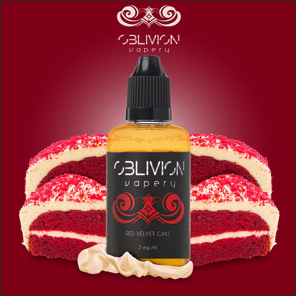 Red Velvet Cake ejuice from Oblivion Vapery