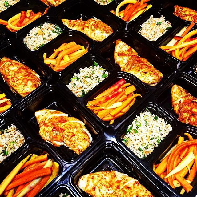 Roasted Ginger Chx w citrus glazed carrot with rice - Nourish NB
