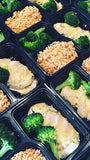 Honey mustard roasted chicken with broccoli and rice pilaf - Nourish NB