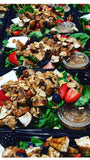 Antioxidant Berry and Spinach Salad with Balsamic Glazed Chicken & Feta - Nourish NB