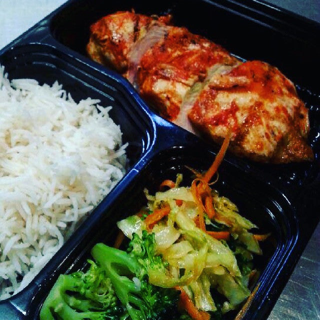 Sriracha Lime Chicken with Asian Vegetables & Basmati Rice - Nourish NB