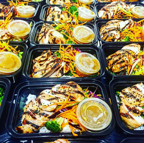 Asian Marinated Grilled Chicken with Fresh Mixed Vegetable