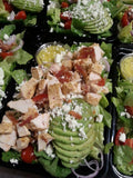 Honey Mustard Chicken with Avocado & Bacon Salad - Nourish NB