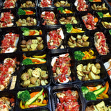 Roast Chicken Topped with Fresh Bruschetta & Baby Herbed Potatoes and Mixed Veg - Nourish NB