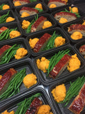 Chipotle Turkey Meat loaf w  Green Beans & Sweet Potato Mash