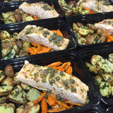 *NEW ITEM* Poached Caper & Lemon Salmon with Garden Carrots and Baby Potatoes - Nourish NB